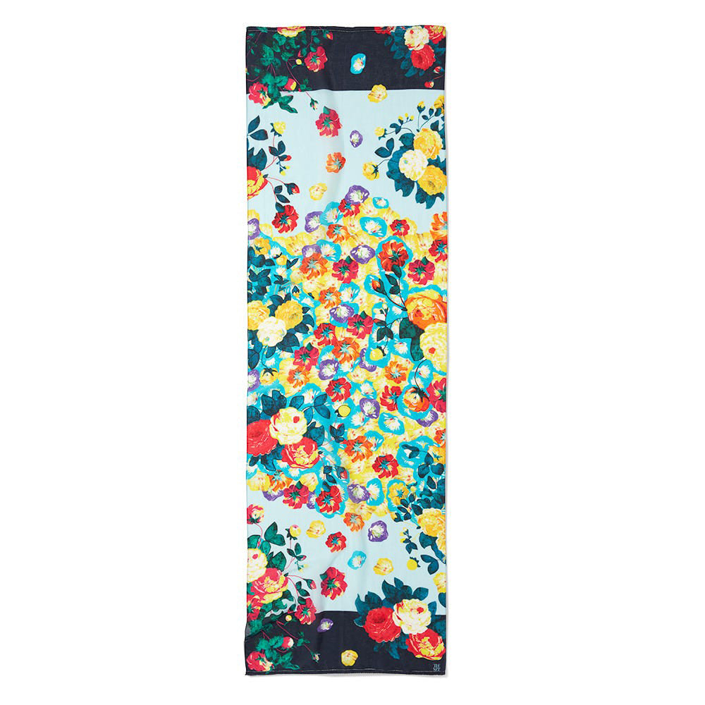English Flowers Scarf
