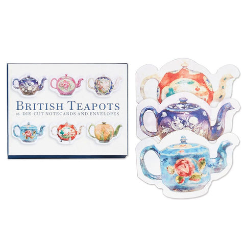 British Teapots Notecards