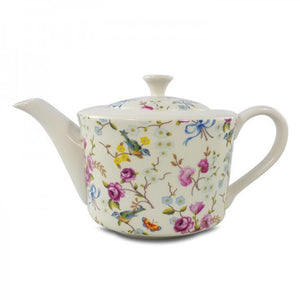 Birds and Blossoms Teapot