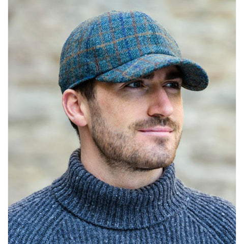 Wool Tweed Baseball Cap