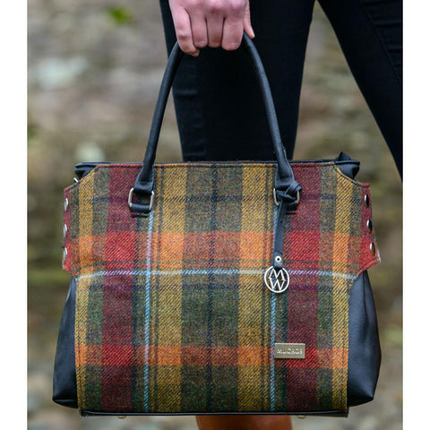 Killarney Wool Tweed Handbag