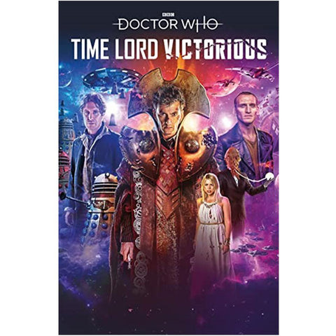 Doctor Who: Time Lord Victorious #1 Comic (Cover A)