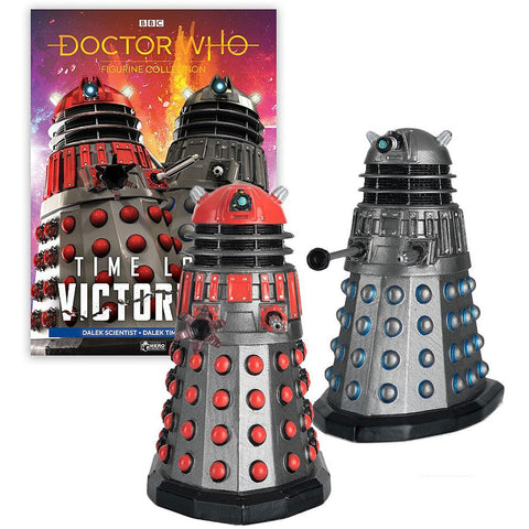 Doctor Who: Time Lord Victorious: Figurine Collection Magazine #2: Dalek Time Commander & Dalek Scientist