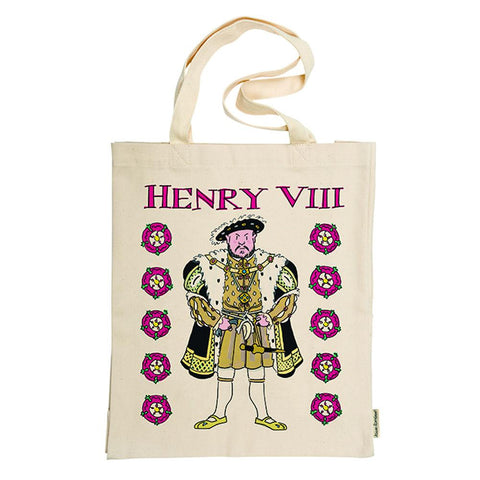 Henry VIII And His Six Wives Tote Bag