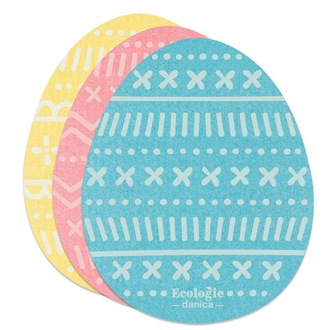 Easter Eggs Swedish Dish Cloth