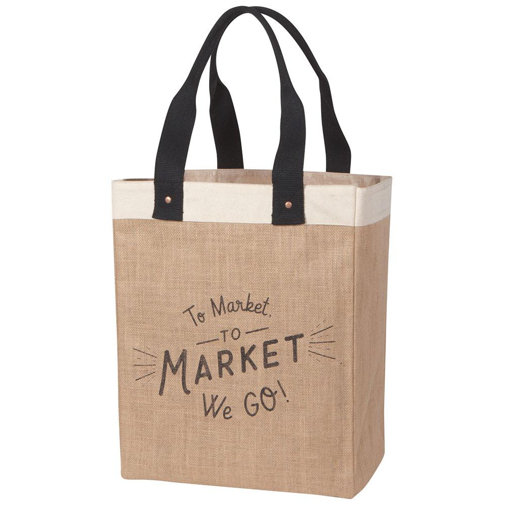 To The Market We Go Tote Bag