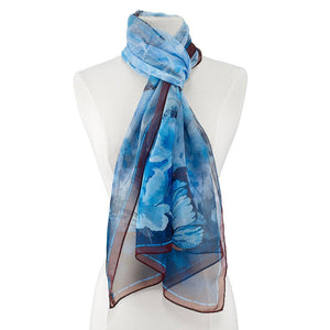 Stained Glass Butterfly Scarf