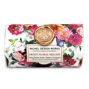 Sweet Floral Melody Large Bath Soap Bar
