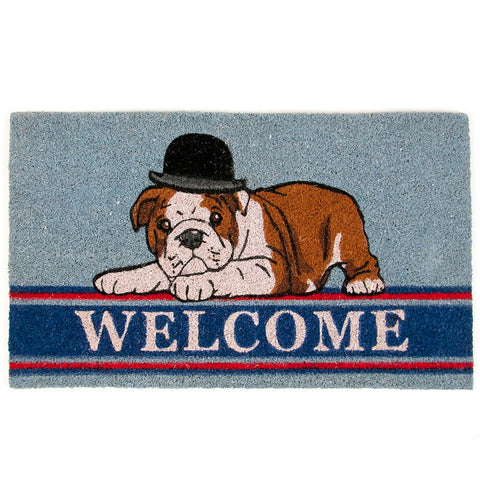 British Bulldog Doormat