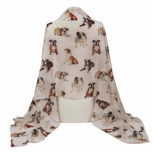 British Bulldog Shawl