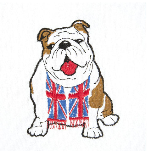 British Bulldog Tea Towel Set