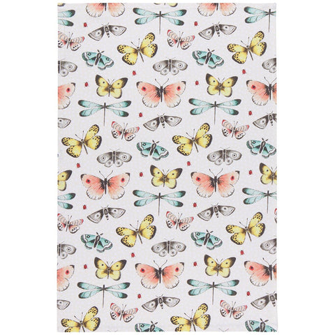 Butterfly Friends Tea Towel