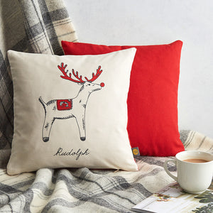 Christmas Delights Rudolph Cushion