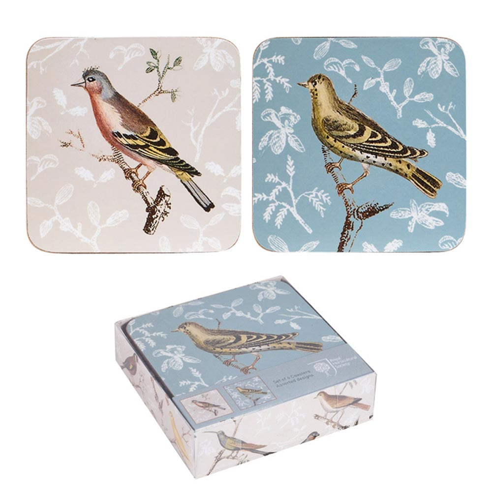 Churchill 'A Little Bird Told Me' Coaster Set