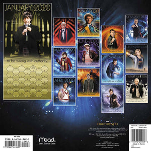 Doctor Who: 2020 Wall Calendar