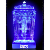 Doctor Who: Fourth Doctor Crystal TARDIS