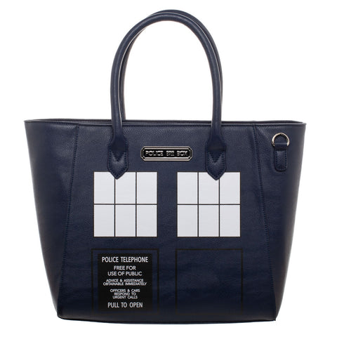Doctor Who: TARDIS Rainbow Tote