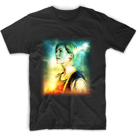 Doctor Who: Thirteenth Doctor Galaxy T-Shirt