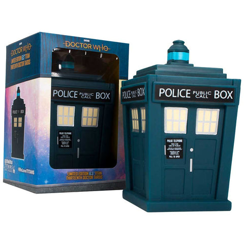 Doctor Who: Thirteenth Doctor TARDIS Titan Figurine