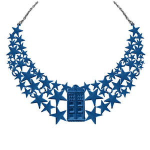Doctor Who: TARDIS Stars Statement Necklace