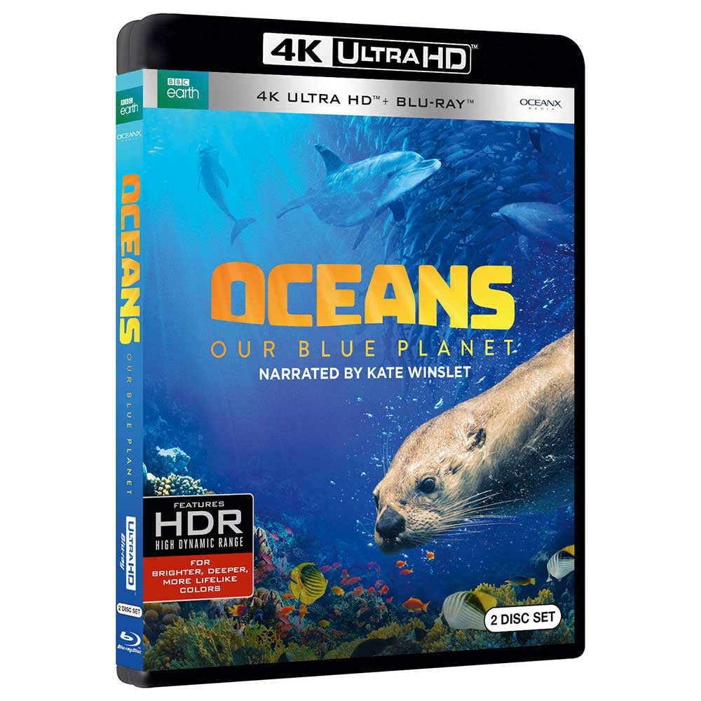 Oceans: Our Blue Planet (4K/BD combo)