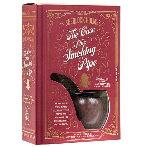 Sherlock Holmes Puzzle: The Case of the Smoking Pipe