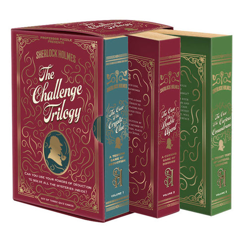 Sherlock Holmes Puzzle: The Challenge Trilogy