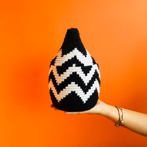 Moroccan Wool Pot :  Small : No. 03