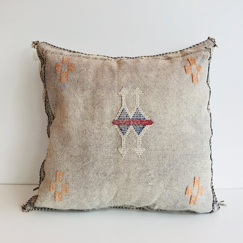 Moroccan 'Sabra' Silk Cushion Cover : No.011