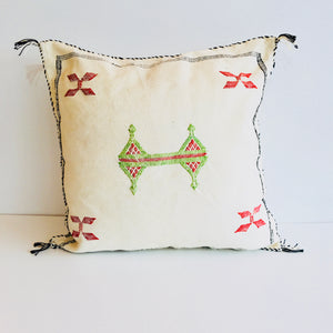 Moroccan 'Sabra' Silk Cushion Cover : No.09