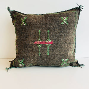 Moroccan 'Sabra' Silk Cushion Cover : No.03