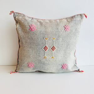 Moroccan 'Sabra' Silk Cushion Cover : No.06
