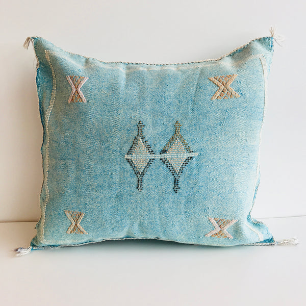 Moroccan 'Sabra' Silk Cushion Cover : No.012