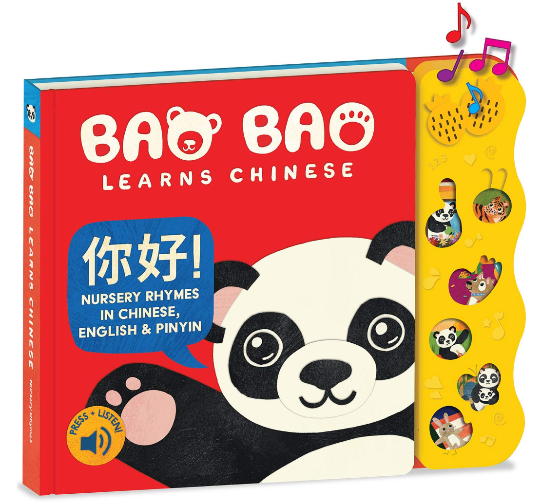 book cover of baobao learns chinese