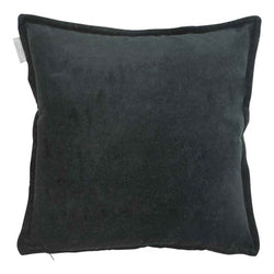 kussen Cotton velvet black - Noirhome