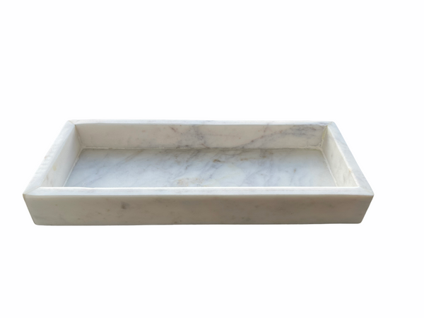 Marmer tray white - Noirhome