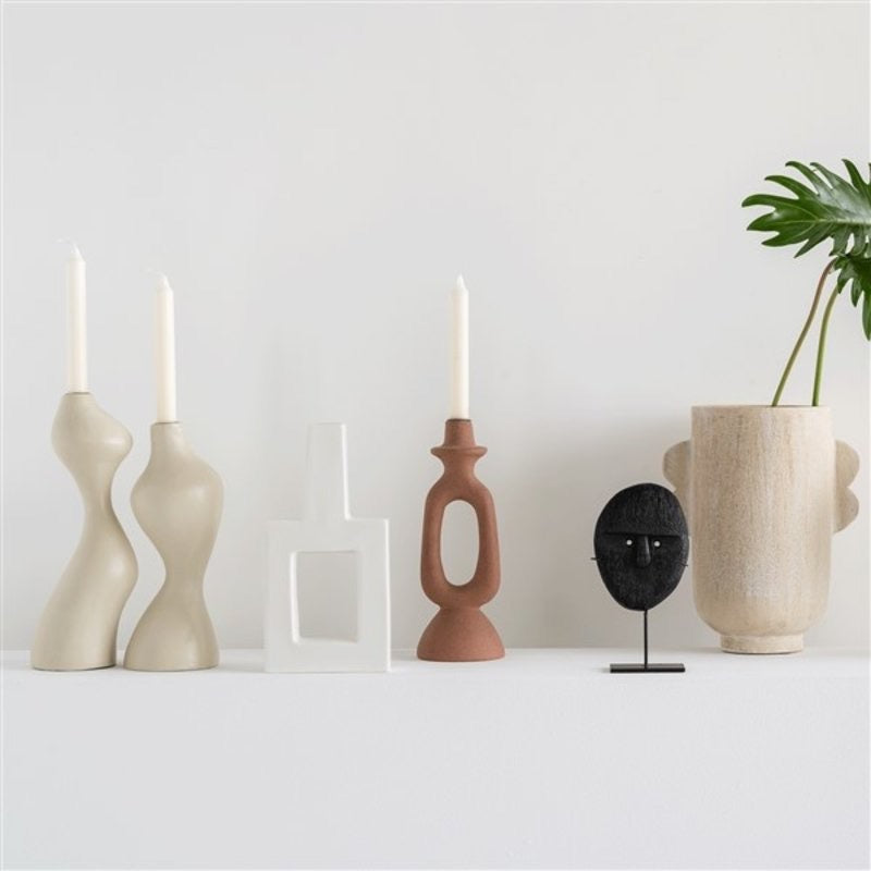 Candle Holder set Flux Urban Nature Culture - Noirhome