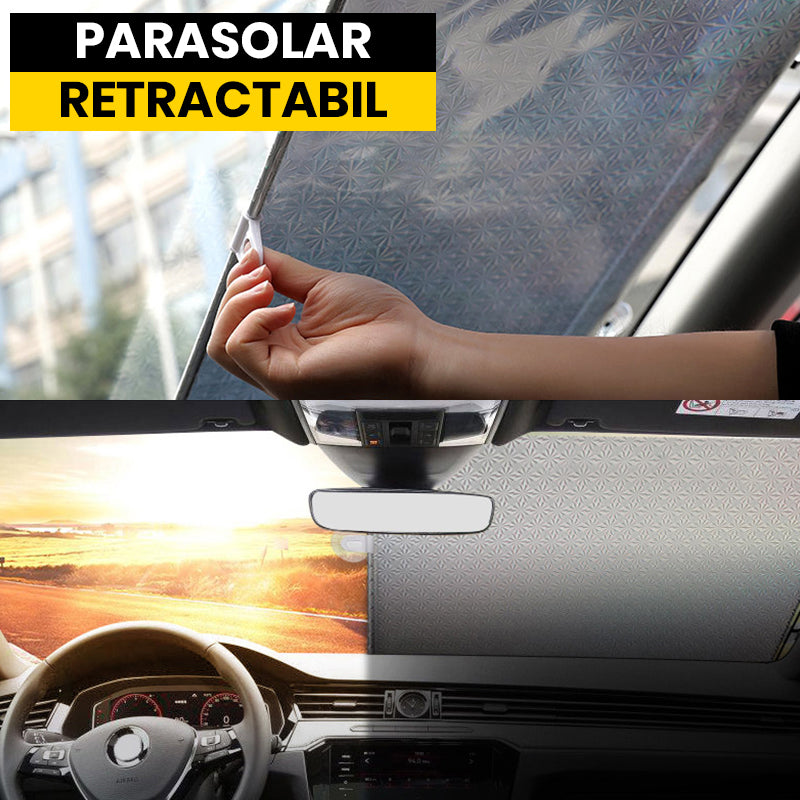Parasolar Auto Retractabil