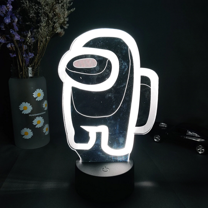 Lampa 3D decorativa