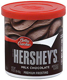 Betty Crocker Hershey's Milk Chocolate Premium Frosting (453g)