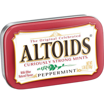 Altoids Peppermint Curiously Strong Mints (50g)