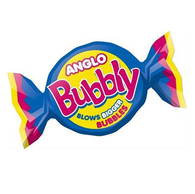 Barratt Anglo Bubbly, Bubble Gum (UK)(4g)