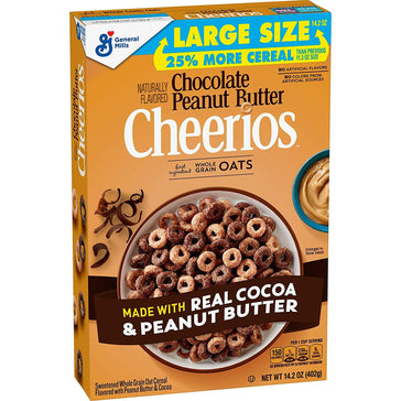 Cheerios Chocolate Peanut Butter (402g)