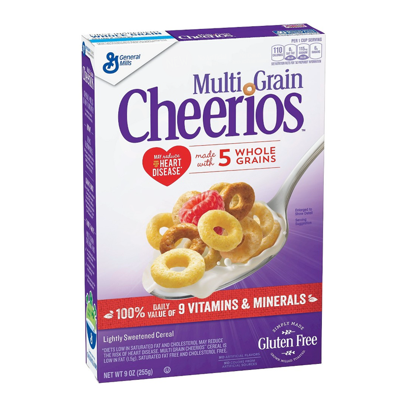 Cheerios Multi Grain Cereal