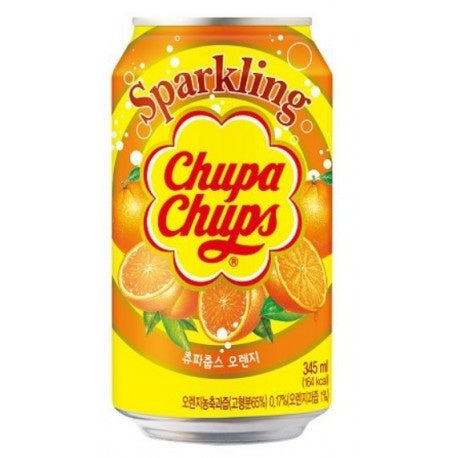 Chupa Chups Sparkling Soda, Orange (345ml)