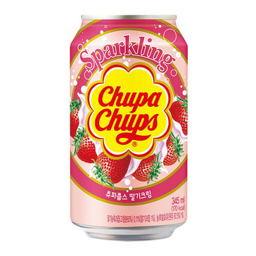 Chupa Chups Sparkling Soda, Strawberry (345ml)