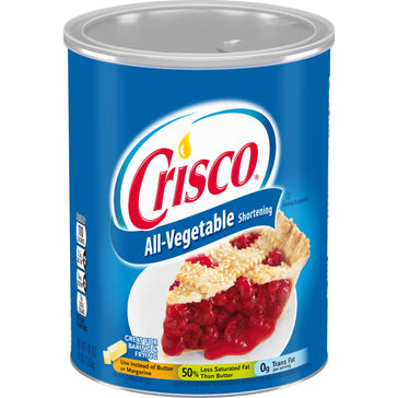 Crisco All-Vegetable Shortening (Large) (453g)
