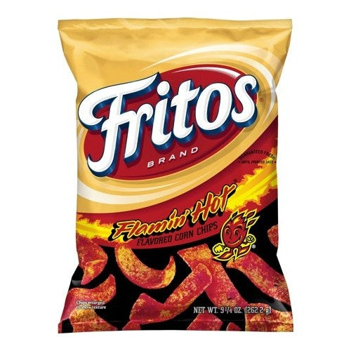 Fritos Flamin' Hot Corn Chips (Limited Edition) (262g)