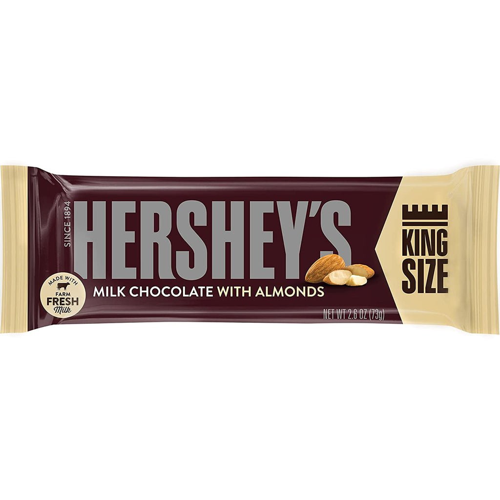 Hershey's Milk Chocolate with Almond, King Size (73g)