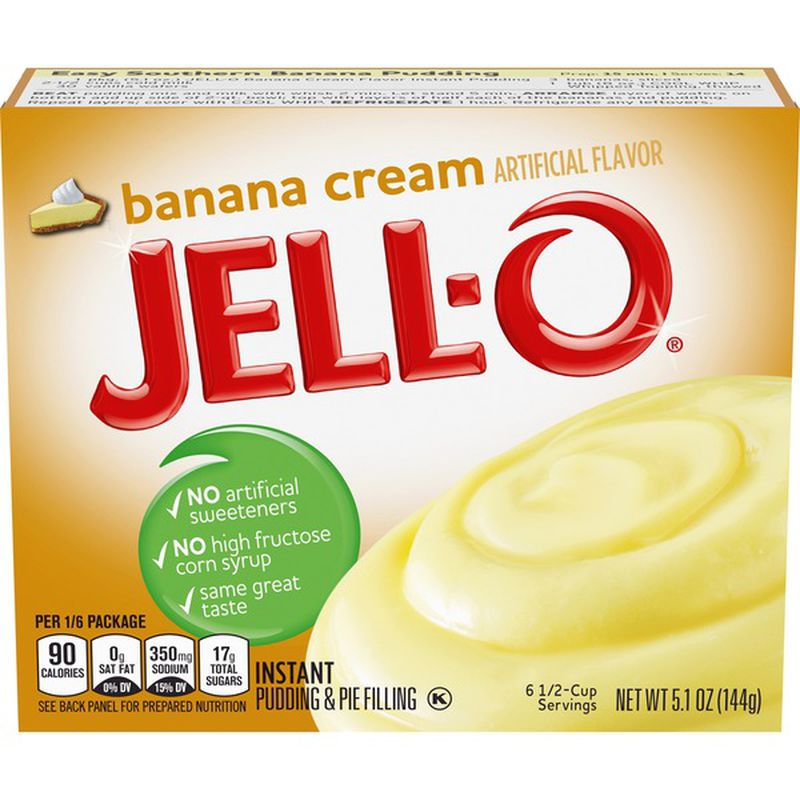Jell-O Banana Cream Pudding